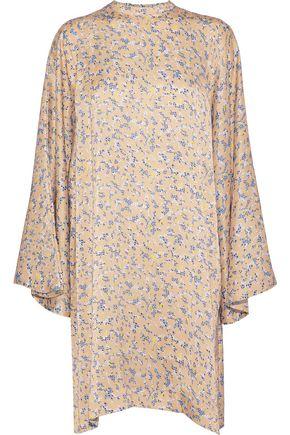 ACNE STUDIOS Printed satin mini dress