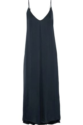 ENZA COSTA Jersey midi slip dress