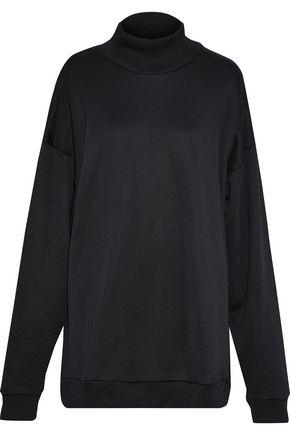 MARQUES' ALMEIDA Oversized cotton-blend terry turtleneck sweatshirt