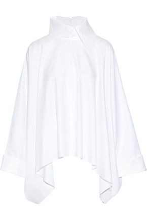 MARQUES' ALMEIDA Oversized draped cotton-twill shirt