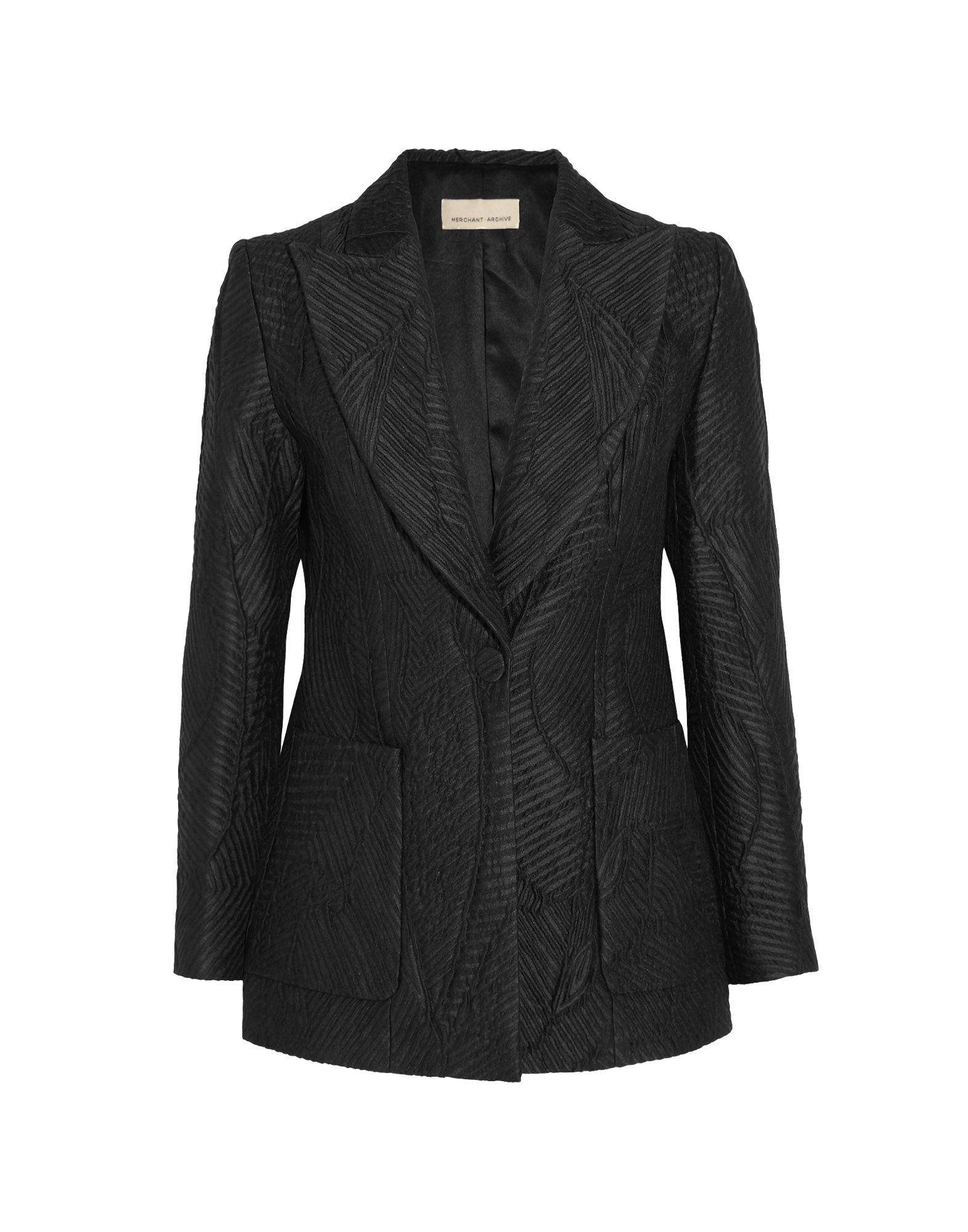 MERCHANT ARCHIVE Blazers in Black
