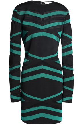 ZUHAIR MURAD Intarsia-knit mini dress