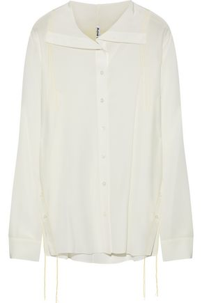 ACNE STUDIOS Sheal washed-silk shirt