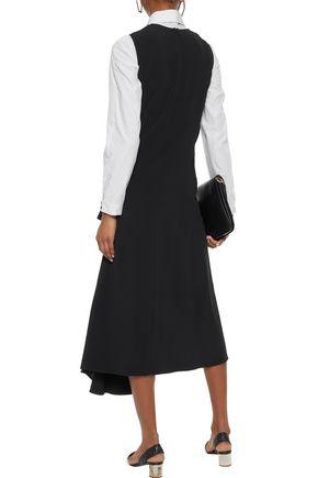 ACNE STUDIOS Asymmetric crepe midi dress