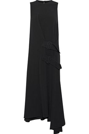 ACNE STUDIOS Asymmetric crepe midi dress