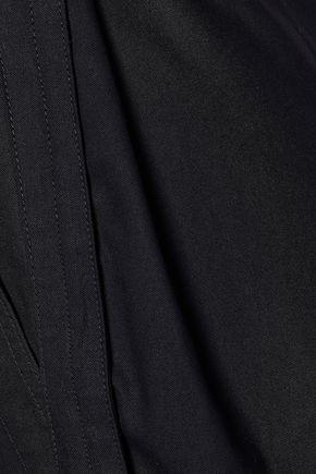 ISABEL MARANT Cropped canvas jumpsuit