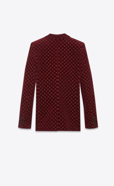 SAINT LAURENT Blazer Jacket Woman star embroidered velvet jacket b_V4