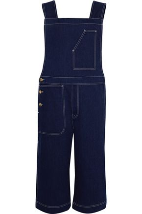 ACNE STUDIOS Tegel cropped denim overalls