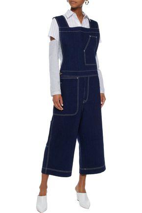 ACNE STUDIOS Tegel cropped denim overalls