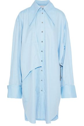 MARQUES' ALMEIDA Oversized embellished cotton-twill shirt