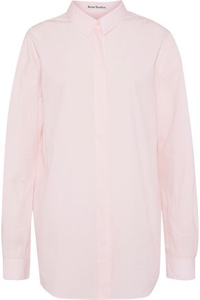 ACNE STUDIOS Bela cotton-poplin shirt