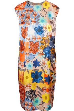 ACNE STUDIOS Delina floral-print satin dress