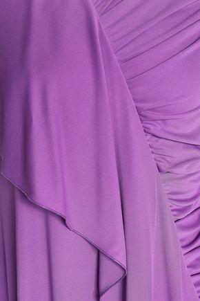 EMILIO PUCCI Draped ruched stretch-jersey dress