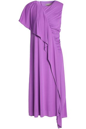 EMILIO PUCCI Draped ruched stretch-jersey dress