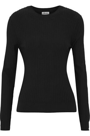 ACNE STUDIOS Ives ribbed cotton-blend sweater