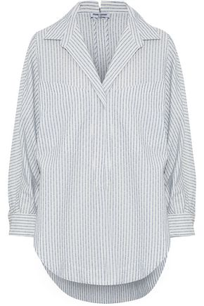 OPENING CEREMONY Oversized printed cotton-blend shirt