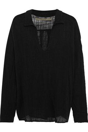 ENZA COSTA Cotton-gauze tunic