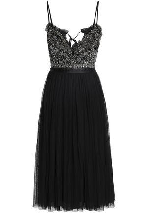 NEEDLE & THREAD Knee Length Dress