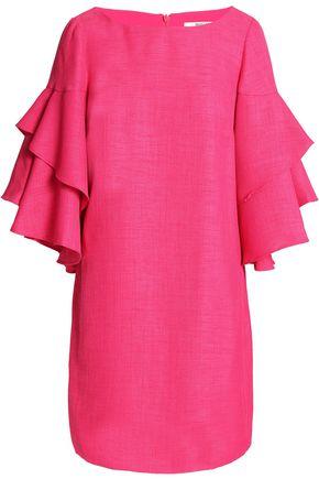 BADGLEY MISCHKA Ruffled woven mini dress