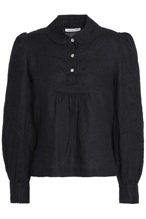 ISABEL MARANT ÉTOILE Gathered linen blouse