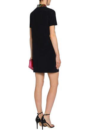 EMILIO PUCCI Sequin-embellished silk crepe de chine mini dress