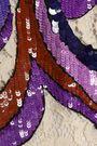 エミリオ プッチ 装飾付き シルク混コードレース ミニワンピース