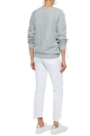 W118 by WALTER BAKER Parker French cotton-blend terry sweatshirt