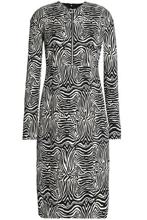 EMILIO PUCCI Cotton-blend jacquard dress