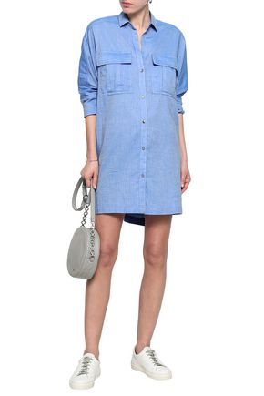 JAMES PERSE Cotton-chambray top