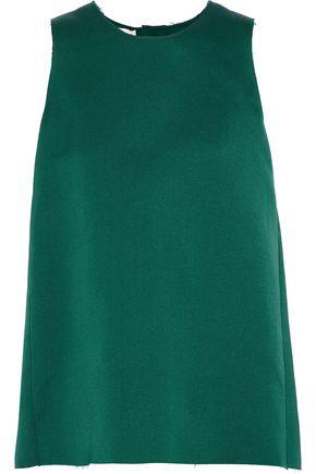 MARNI Silk and cotton-blend satin tunic