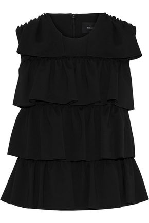 SIMONE ROCHA Tiered stretch-knit top