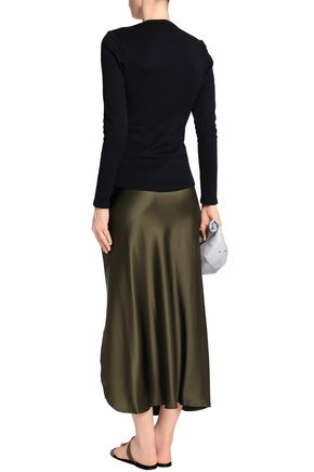 Cotton Blend Jersey Top by James Perse