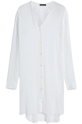JAMES PERSE Crinkled cotton top