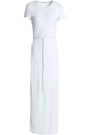 JAMES PERSE Cotton-blend jersey maxi dress