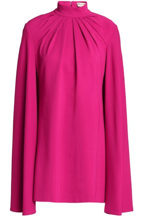 EMILIO PUCCI Mini dress in pleated crepe