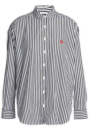 CHINTI AND PARKER Striped cotton-poplin shirt