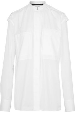 WOMAN BYRON COTTON-POPLIN SHIRT WHITE