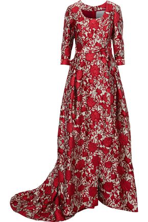 CAROLINA HERRERA Brocade gown