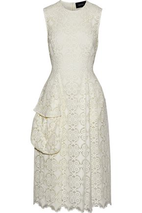SIMONE ROCHA Embroidered organza dress