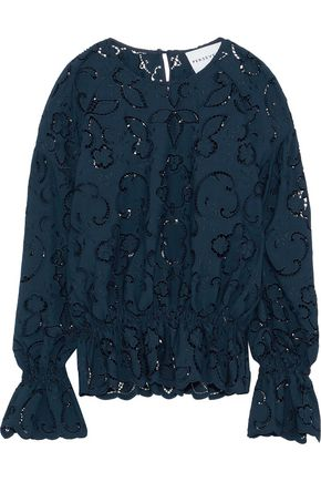 PERSEVERANCE Broderie anglaise top
