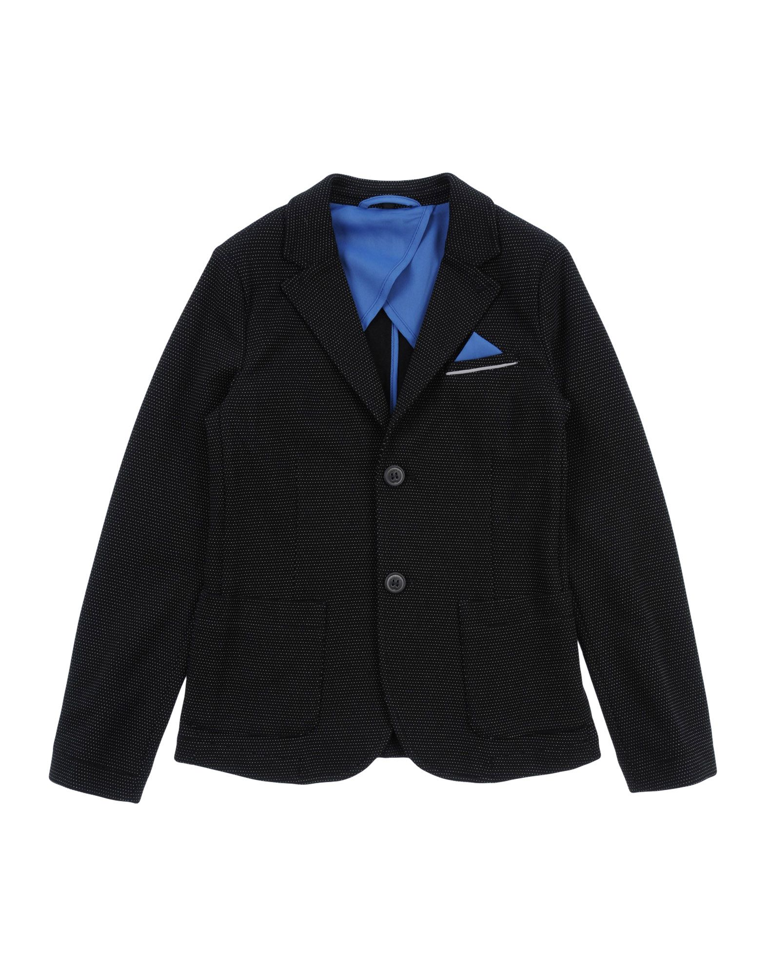 ARMANI JUNIOR Пиджак my junior голубой льняной пиджак