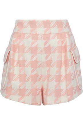 PIERRE BALMAIN Houndstooth woven shorts