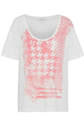 PIERRE BALMAIN Printed slub cotton-jersey T-shirt