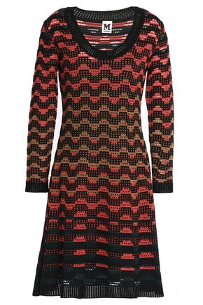 M MISSONI Crochet wool-blend dress