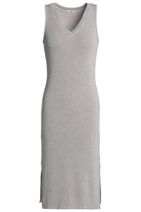 MONROW Slub jersey dress
