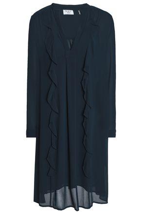 DAY BIRGER ET MIKKELSEN Ruffle-trimmed georgette dress