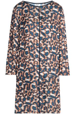 DAY BIRGER ET MIKKELSEN Printed satin mini dress