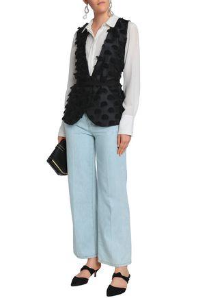dad96136f798 DAY BIRGER ET MIKKELSEN Belted fil coupé twill vest