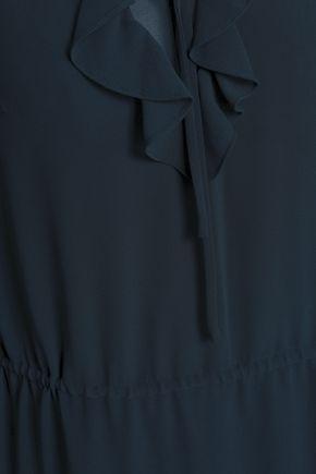 DAY BIRGER ET MIKKELSEN Ruffled crepe de chine dress