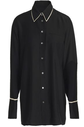 J BRAND Blake oversized satin shirt